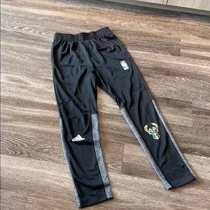 Adidas NBA Milwaukee Bucks sweat pants
